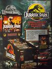 Jurassic Park Pin Ball Flyer