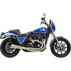 Bassani Road Rage 3 Step Stainless Exhaust for Harley FXR Models