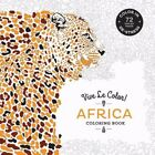 Vive le Color AFRICA Coloring Book Color In De Stress 72 Tear Out Pages NEW