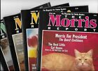 THE MORRIS REPORT Cat Care Magazine 1988 Published by 9 LIVES Lot of 4