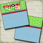 PLAYGROUND FUN NPM 2 Premade Scrapbook Pages EZ Quick page Layout 510