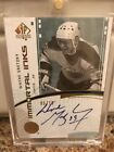 09-10 SPA Immortal Inks Wayne Gretzky Auto 5 10 Autograph Rare Oilers Signature