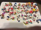 Lot of 46 Snoopy Peanuts Whitman PVC ornaments plastic figures Chess Pieces