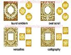 Lightly USED Anna Griffin Mix  Match Embossing Folders w Interchangeable Frames