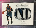 2016-17 NBA Flawless ZACH LAVINE 4 COLOR JERSEY PATCH CARD #22 25