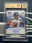 BGS 9.5 - 2012 PANINI CONTENDERS RUSSELL WILSON #23 RC 75 ROOKIE INK AUTO 10
