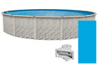 21 X 52 Round Meadows Above Ground Swimming Pool with Liner  Skimmer