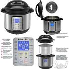 Instant Pot 9-In-1 Muti-Use Programmable Pressure Cooker 8 Qt Duo Plus Instapot