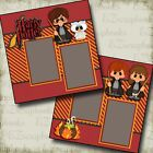 Harry Potter 2 Premade Scrapbook Pages EZ Layout 2602