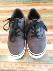 VANS Size 5 MENS Boys Atwood Deluxe Grey skate shoes