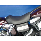 Black Low Profile Contour Solo Seat for 2006 2017 Harley Dyna