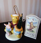 Disney Winnie the Pooh Midwest of Cannon Falls Porcelain Ornament Pooh