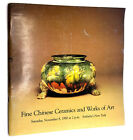 Fine Chinese Ceramics  Works of Art Saturday November 8 1980 Sotheby Auction