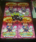 2013 garbage pail kids chrome series 1 lot of 4 empty Hobby Collector boxes
