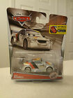 RARE New Disney Pixar Cars - 1:55 Scale Diecast Silver Racer Series -MAX SCHNELL