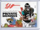 2017 Panini National Convention TJ YELDON PRIVATE SIGNINGS AUTO SP #2 3 JAGUARS!