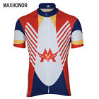 Espan Spain Team Cycling Jersey Short Sleeve Bike Retro Clothing Ropa Ciclismo