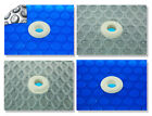 16x32 Rectangle Swimming Pool Solar Cover 800 1200 and 1600 Series W Grommets