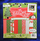 Holiday Cheer Stack DCWV Printed Cardstock Paper Scrapbooking 12 x 12 48pc
