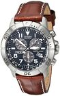 Citizen Bl5250-02L Titanium Eco-Drive Watch With Leather Band Men's From Japan