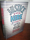 SIGNED 1st Edition JUSTICE FOR HIRE Robert Randisi MYSTERY Crime ANTHOLOGY First