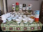 Lot Of 46 Fire King Kimberly-Advertisement.Pyrex,Milk Glass Cup,Mug