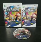 Go Play City Sports (Nintendo Wii, 2009) Complete