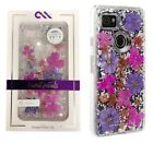 Case Mate Karat Petals Case Cover for Google Pixel 2 XL Purple Pink Flowers