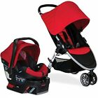 Britax 2017 B Agile and B Safe 35 Travel System, Red