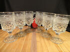 ANCHOR HOCKING Vintage WEXFORD Wine Glasses, 5 1/2 inches tall, Set of 6,