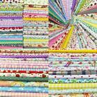200 Lot Quilting Fabric Colors Cotton Sewing Supplies Patchwork Fat Quarters 4X4