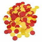 Pangda 200 Pieces Colored Plastic Counters Counting Chips Bingo Markers with