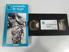 THE BATTLE OF ALGIERS GILLO PONTECORVO VHS BOX CARTON SPANISH THE WORLD