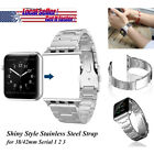 For Apple Watch Band,Serial 1 2 3 Replacement Stainless Strap Valentine Day Cool
