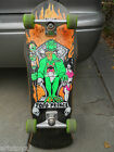 ZORLAC 1988 TODD PRINCE Frog King Skateboard Complete Custom Flame Grip Toad