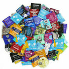 Condoms Bulk Sampler Mix - Trojan Crown Atlas NuVo Lifestyles Trustex