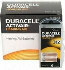Duracell Hearing Aid Batteries Size 312 - Fast shipping- Fresh Exp-2023