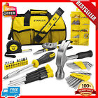 Stanley Household Tool Set with Soft Case Gift Home Repair Tools Kit Combo 38 pc