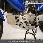 Recraft Honda XL 650 V Transalp 2000-2007 Engine Guard Skid Plate with Sliders