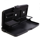 Foldable Car Back Seat Notbook Stand Food Dinning Tray Table Drink Cup Holder