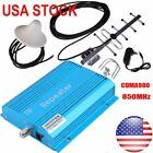 HOT CDMA850MHz Cell Phone Signal Repeater Booster Amplifier+Yagi Antenna Kit OY