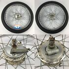 1980 80 Honda Hobbit PA50 PA 50 Front Wheel Rim Hub Axle Used