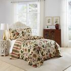 Waverly-Laurel-Springs-Reversible-Cotton-3-piece-Bedspread-