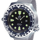 Tauchmeister diver watch  automatic Sapphire Milanaise T0256MIL