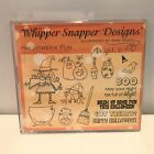 Whipper Snapper Designs HALLOWEEN FUN Witch Sayings Cling Rubber Stamps Set