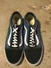 VANS OLD SKOOL LOW NAVY BLUE REVENGE SUEDE CANVAS CLASSIC SKATE SK8 US MENS 13