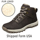 Mens Outdoor Hight Top Boot Water Poof Winter Sneaker Snow Boots Warm Snow Shoes