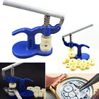 Watch Press Set Watchmaker Tool Back Case Closer Crystal Glass Fitting 12 dies