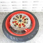 Ducati Monster 1000 S ie 2004 front wheel rim with 50% tyre & good rotors discs
