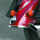 Honda VTX1300 S R/Retro & T/Tourer - Chrome Rear Fender Tip trailing edge